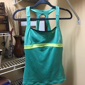 Nike gym tank top jogging workout clothes fitness
